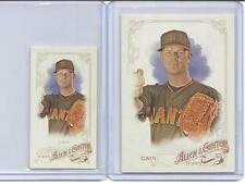 "2015 ALLEN & GINTER. ""2"" MATT CAIN. SHORT PRINT (SP) #332. BASE + A &G BACK MINI"