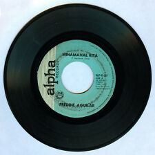 Philippines FREDDIE AGUILAR Minamahal Kita OPM 45 rpm Record