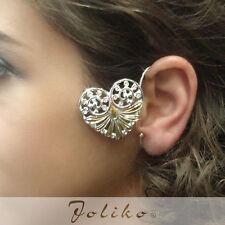 JoliKo Ohrklemme Ohrringe Ear cuff Keltisch Herz Elfen Fee Celtic Heart RECHTS