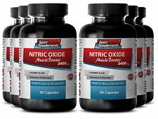 L-Arginine Plus - Nitric Oxide Boost 2400mg - Promotes Post Workout Recovery 6B