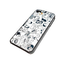 NEW BLACK AND WHITE CARTOON DESIGN IPHONE 4 4S CASE SUPER FAST SHIPPING