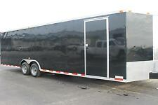 8.5x28 Enclosed Trailer Cargo Car Hauler 8 V-Nose Construction 30 Box 2016 CALL