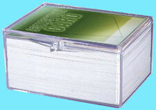 1 ULTRA PRO 100 COUNT CLEAR HINGED CARD STORAGE BOX Case Holder Sports Trading