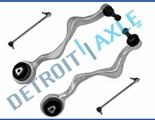 New (2) Front Lower Forward Control Arms + Ball Joints + Sway Bar Links for BMW