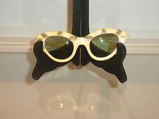 Vintage Cat Eye Sunglasses, Bakelite Prescription/Bifocal Made In USA/MAY