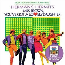 Mrs. Brown, You've Got a Lovely Daughter/Hold On! by Herman's Hermits (CD,...