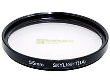 55mm. filtro Skylight 1A. Sky Light filter.