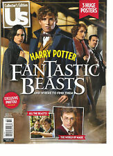 US, COLLECTOR'S EDITION, 2016   HARRY POTTER FANTASTIC BEASTS  (3 HUGE POSTERS)