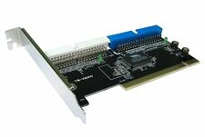 PCI to  IDE ATA 133  Controller Card 2 Ports Supports  4 devices Via VT6410 chip
