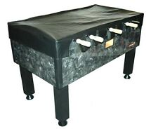 BLACK NAUGAHYDE - VINYL FOOSBALL TABLE COVER ~ PROTECT YOUR TABLE~ BRAND NEW