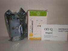 OnQ Legrand Source Input Model F7417-WH