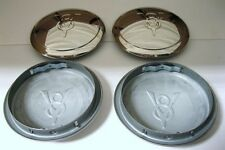 1934 Ford Car Pickup Truck SS Hubcap 34 V8 Logo Set (4)