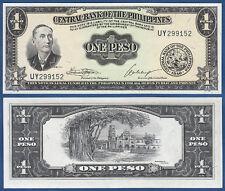 PHILIPPINEN  / PHILIPPINES 1 Peso 1949  UNC  P.133 h