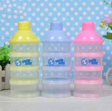 4Layer Portable Infant Baby Feeding Milk Powder &Food Bottle Container Grid Box