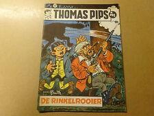 STRIP / THOMAS PIPS 17: DE RINKELROOIER | 1ste druk