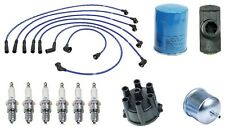 Maxima 280ZX 810 Tune-up kit NGK Spark Plugs-Wire Set-Cap-Rotor-Filters