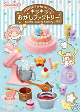 Japan Re-ment Sanrio Miniature Little Twin Stars Twinkle Sweets Factory 8 PCS