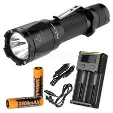 Fenix TK16 1000 Lumen Flashlight, 2x Fenix 3500mah batteries and a Smart Charger