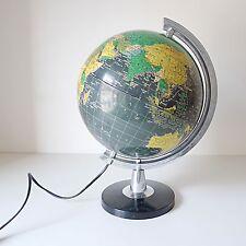 Globe Terrestre lumineux lampe vintage années 70 design 1970 70er Jahre