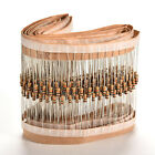 Around-the-clock 50pc New Alloy Golden Resistors 10K OHM 1/4W 5% Watts Power CA