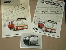 Prospectus Autocar CITY BUS STEYR   Bus Press Book brochure prospekt busse