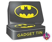 VINTAGE RETRO STYLE BATMAN LOGO RECTANGLE GADGET TIN STORAGE CONTAINER