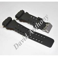 (A) 16MM PU RUBBER STRAP Fits Casio G-Shock Watch. GA-100 G-8900 GW-8900 GLS-100