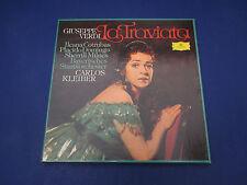 Verdi Latraviata Kleiber, 2707-103,2 Record Set With Score