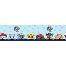 Paw Patrol Self Adhesive Wallpaper FRONTERA 5M Pared Decoración Childrens bedroom Nuevo