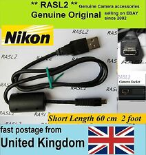 Genuina Original Nikon Cable Usb D5500 D5300 D750 Df D3300 D3200 D5100 D5000