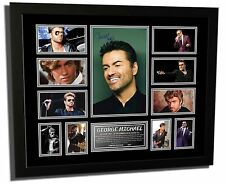 GEORGE MICHAEL RIP SIGNED LIMITED EDITION FRAMED MEMORABILIA
