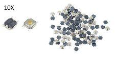 10X PULSANTI TATTILI 4X4X1,5 mm circuito arduino micro mini switch button PCB cs