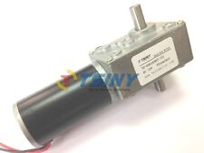 Small 12v Micro DC Worm Gear Box Motor with Double Out Shaft Speed Gear Reducer