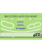 1/20 ICKX HELMET DECAL LIGIER JS11 for TAMIYA