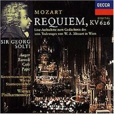 GEORG/WP SOLTI - REQUIEM KV 626 CD CHOR NEU