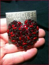 Beautiful  Carolee New York Red Heart  Eternal Love Pin - Style #: P5135-4360