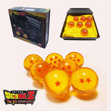 Dragon Ball Z Stars Crystal Small 3 cm Ball Set of  7pcs New In Box S