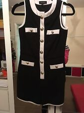 River Island black playsuit/jumpsuit/shorts size 6