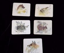 Mads Stage 5 Drink Place Mats Coaster – animals