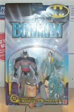 2002 Mattel Batman Tech Suit Batman Vs Two Face 2 Pack action Figure NRFP