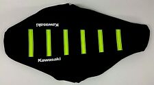 New NEON YELLOW KAWASAKI Ribbed Seat cover KX125 KX250 1992 1993