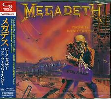 MEGADETH PEACE SELLS.... BUT WHO'S BUYING JPN 2013 RMST SHM HIGH FIDELITY CD+4