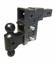 "GenY 623 Class V 21,000lb,2-1/2"" 3-Receiver Drop Hitch,Adjustable Pintle Combo"