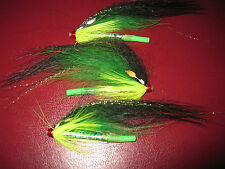 3 V Fly 1.5 Inch RV Ultimate Alta SS Suhrlander Brass Salmon Tube Flies & Hooks