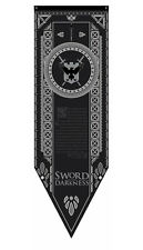 Game Of Thrones Night's Watch Jon Snow Stark Westeros Tournament Banner FGXTNW