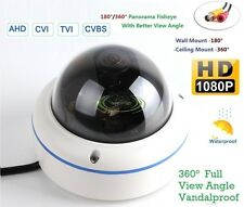 AHD 1MP HD 720p Outdoor Vandal Dome Camera 180/360 Degree View Security Camera