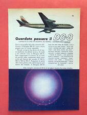C552-Advertising Pubblicità-1959 - DOUGLAS DC 8 AVIOGETTO