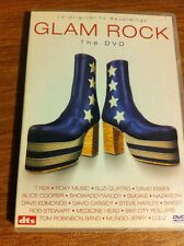 GLAM ROCK DVD 20 CLASSIC ROCK TV PERFORMANCES FROM THE 70'S OOP RARE