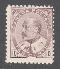 CANADA STAMP #93 --- 10c EDWARD - 1903 - UNUSED
