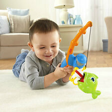 FISHER PRICE GROW WITH ME FISHIN' FUN 2 SKILL LEVELS FISHING POLE *NEW*